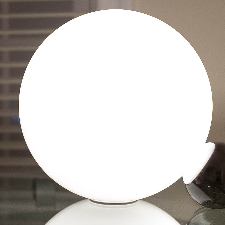 Flos copycat table lamp by michael anastassiades stardust flos copycat lamps f19520 round ball glass table lamp opal white aloadofball Image collections