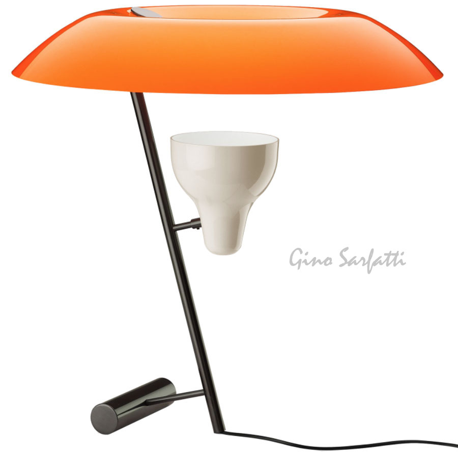 Flos model 548 table lamp sarfatti mod 548 stardust for Gino sarfatti flos