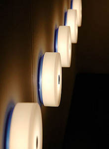Small Exterior Wall Lights : Flos Mini Button Ceiling or Round Wall Light 5.51