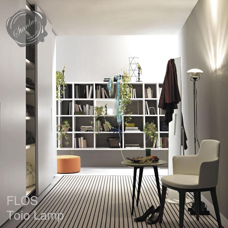 Flos toio floor lamp by achille castiglioni stardust flos toio floor lamp aloadofball Gallery