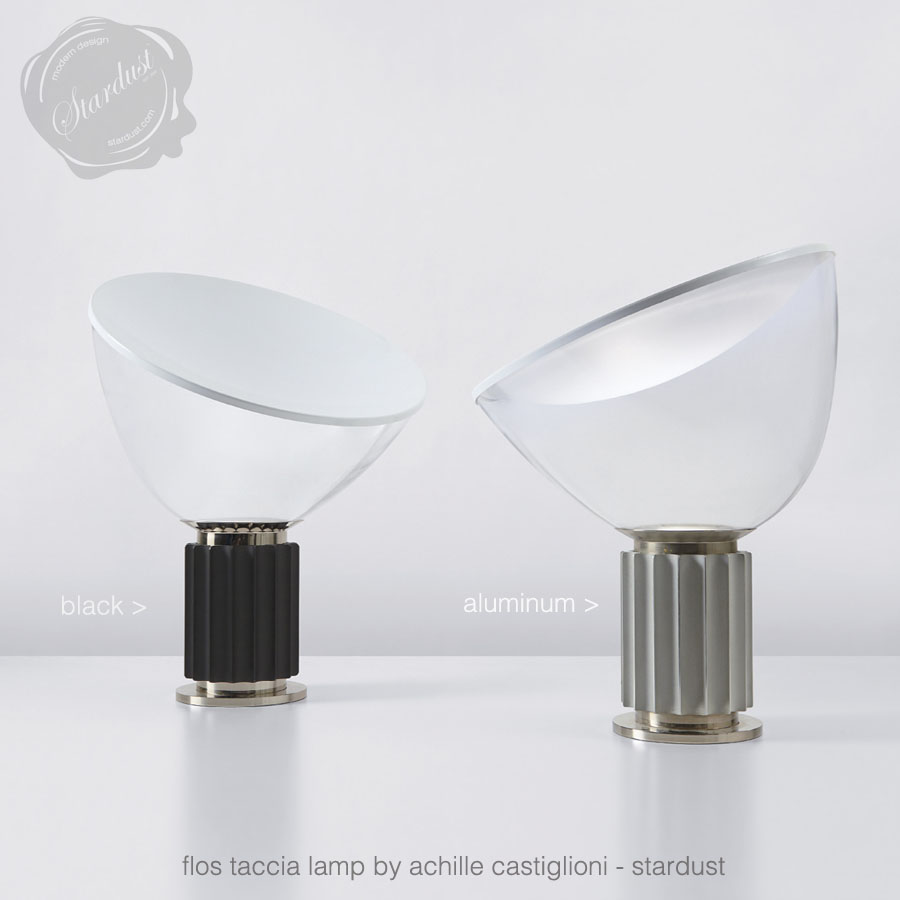 Flos taccia lamp by achille castiglioni stardust for Taccia flos