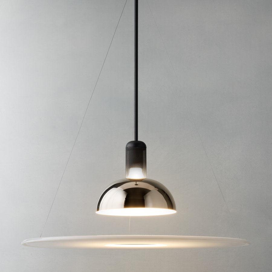 Flos Frisbi Pendant Lamp 1964 Castiglioni FU250000 | Stardust for Roof Lamp Design  587fsj