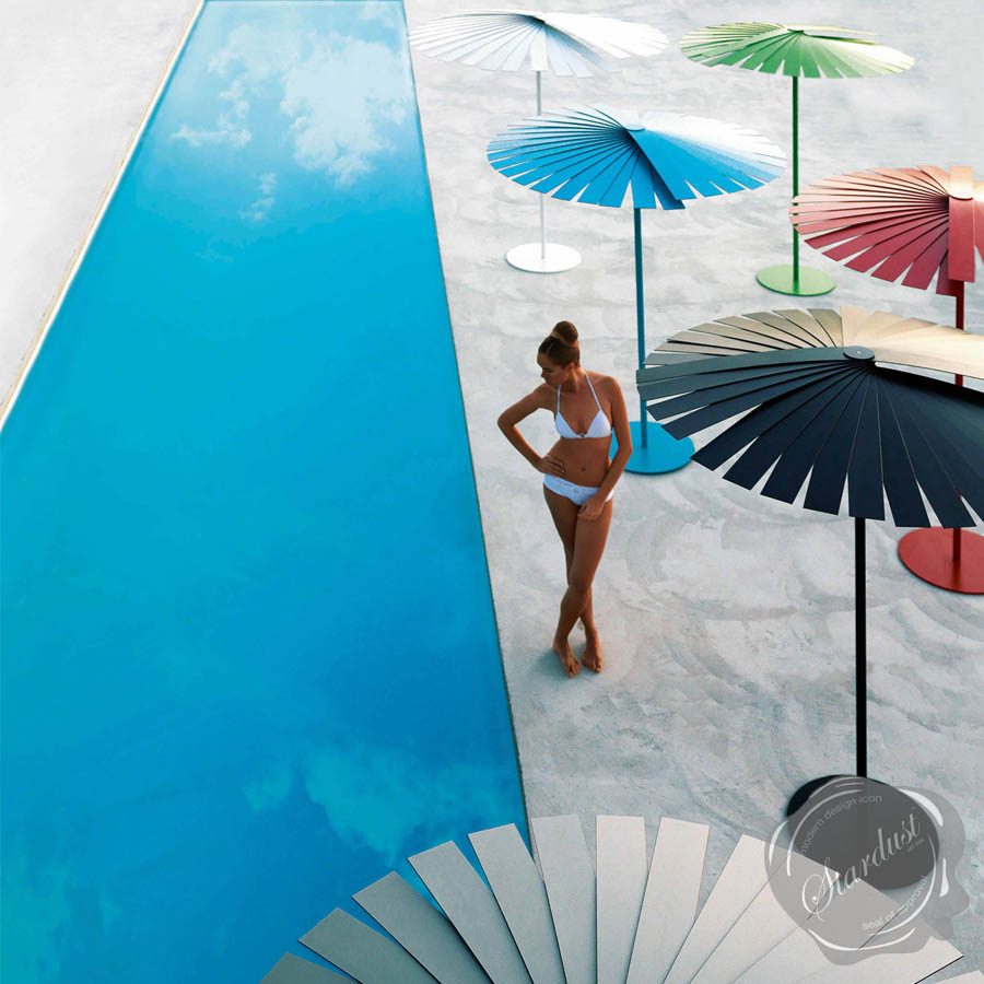 ensombra ft outdoor patio umbrella wfolding gandia blasco  stardust - ensombra ft outdoor patio umbrella