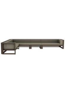 Na Xemena Type 8 Modern Outdoor Sofa 4-Part Sectional