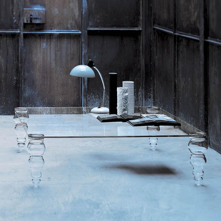 Glas Italia Post Modern Coffee Table by Piero Lissoni