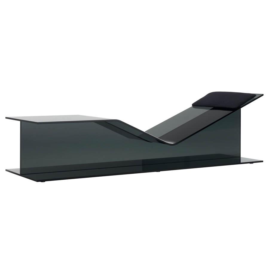 Glas Italia I Beam Chaise Lounge by Jean Marie Massaud