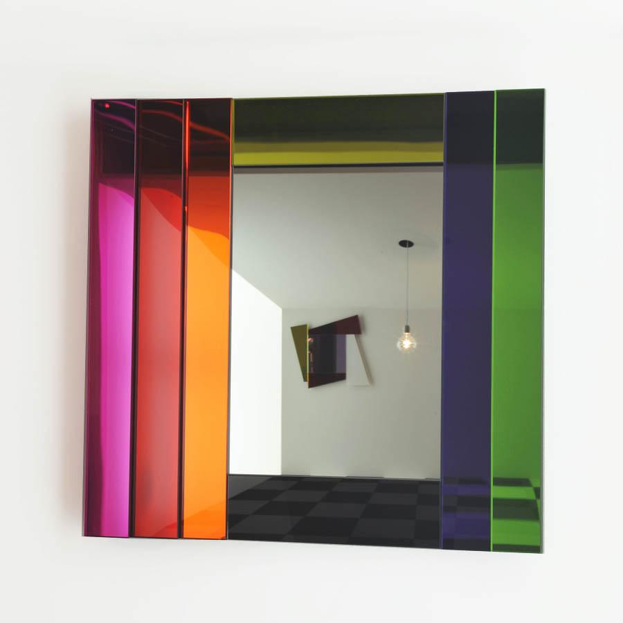 Contemporary Wall Mirror glas italia ettore sottsass mirror dioniso3 gli specchi di dioniso