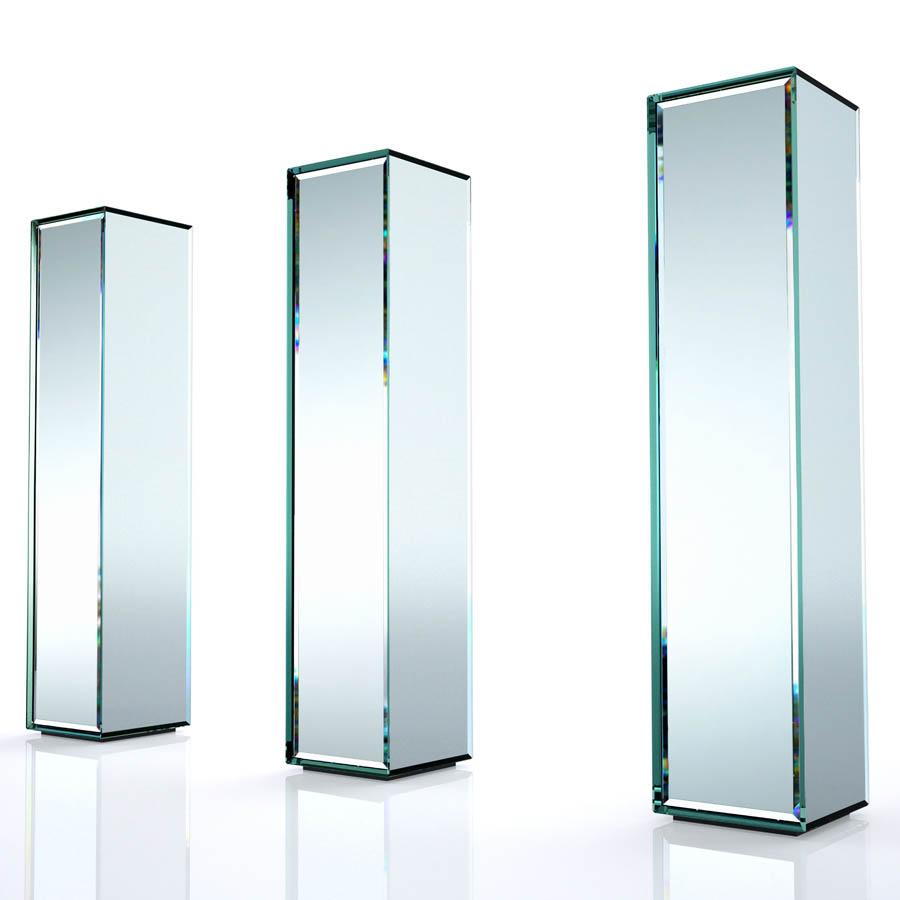 Glas Italia Prism Freestanding Mobile Storage Cabinet  sc 1 st  Stardust Modern Design & Glas Italia Prism Freestanding Mobile Storage Cabinet | Stardust
