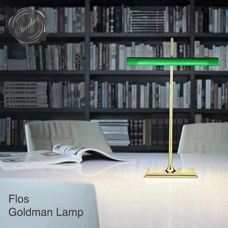 Flos LED Banker Goldman Table Lamp Stardust