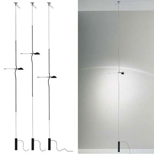 Ingo maurer hot achille floor to ceiling lamp by ingo