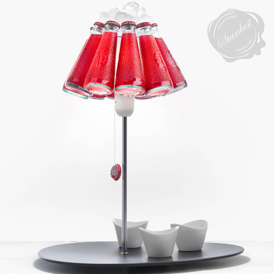 ingo maurer campari bar table lamp stardust. Black Bedroom Furniture Sets. Home Design Ideas