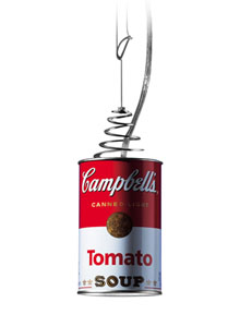 Ingo Maurer Canned Light Pop Art Pendant Light Stardust