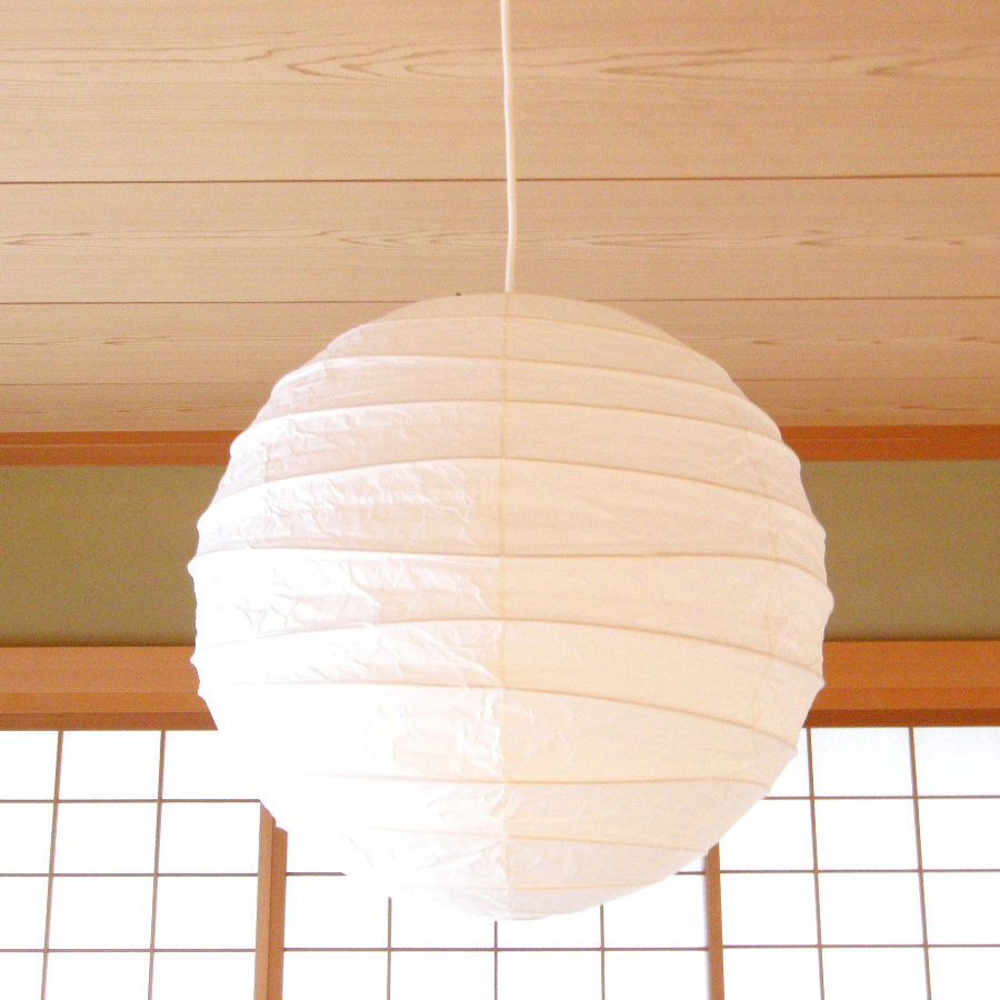 Noguchi round akari 30d45d55d75d100d pendant light stardust noguchi round mozeypictures Gallery