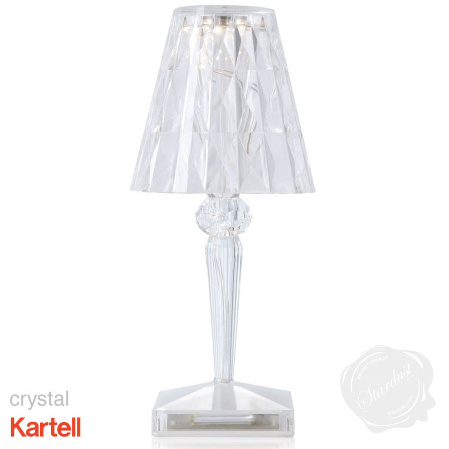Kartell portable led rechargeable battery table lamp stardust kartell portable led rechargeable battery table lamp geotapseo Choice Image