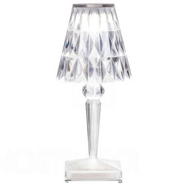 Kartell Portable Led Rechargeable Battery Table Lamp