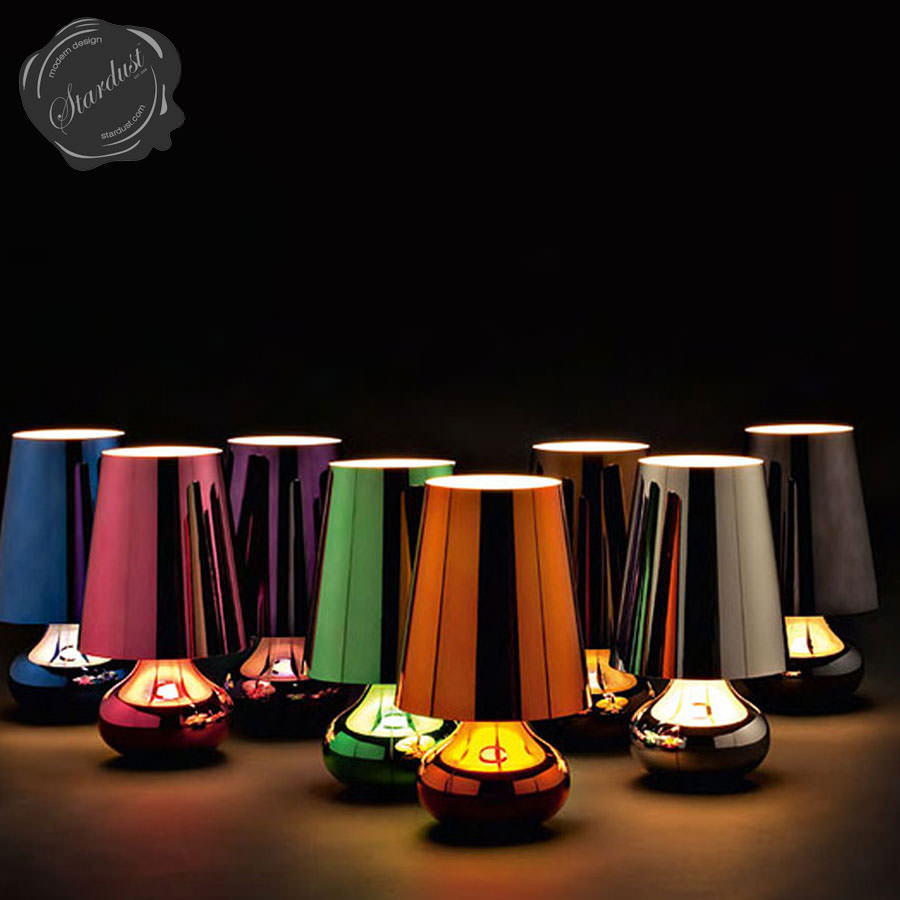 Kartell Cindy Table Lamp Platinum Open Box Floor