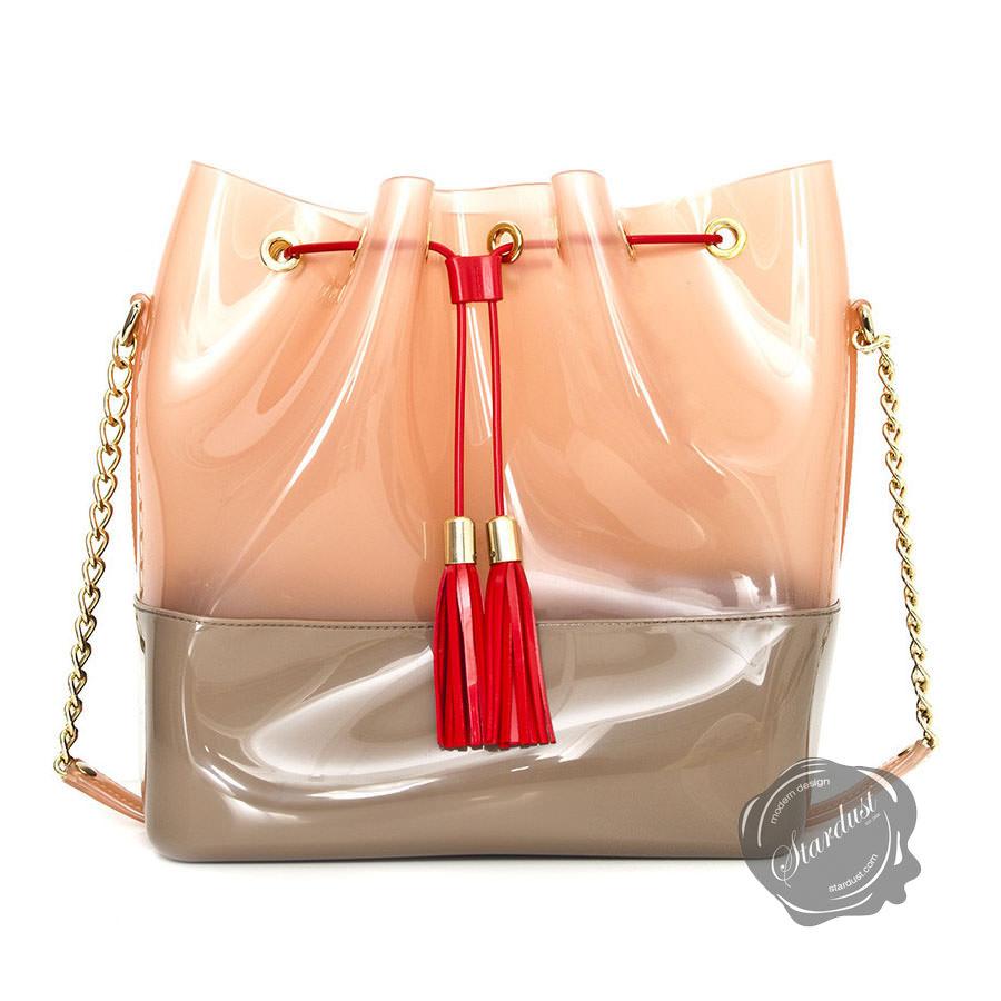 counterfeit hermes bags - Kartell Grace K Handbag in Dove Peach | Stardust