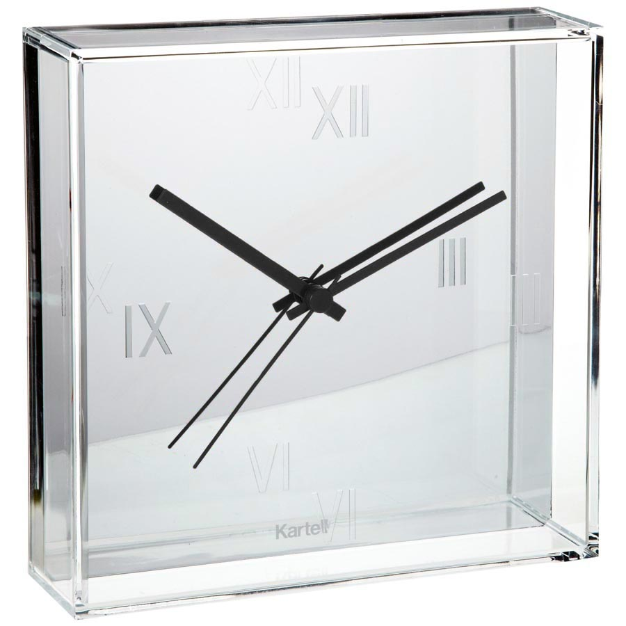 tic and tac® wall clock  stardust - kartell tic tac® wall clock