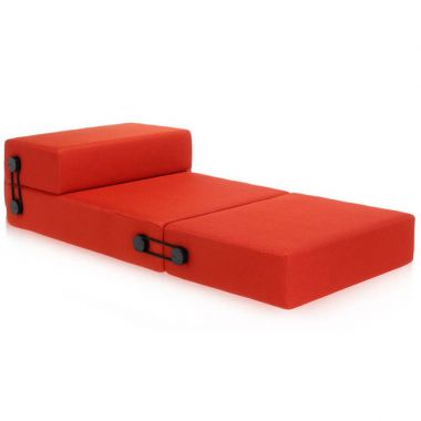 Kartell Trix Modern Pull Out Futon Sofa Sleeper By Piero Lissoni