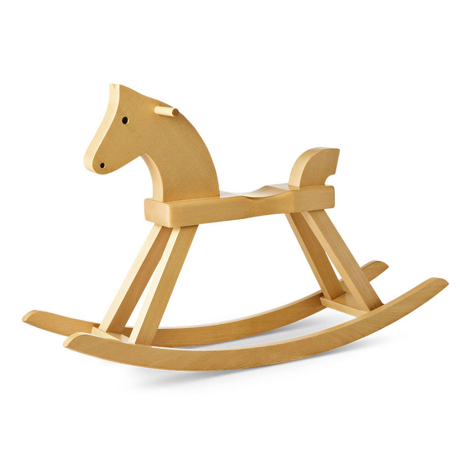 Merveilleux Kay Bojesen Wooden Rocking Horse By Rosendahl