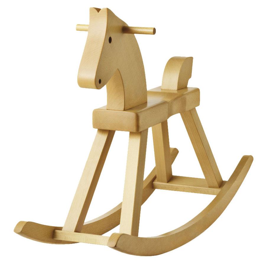 Kay Bojesen Wooden Rocking Horse By Rosendahl