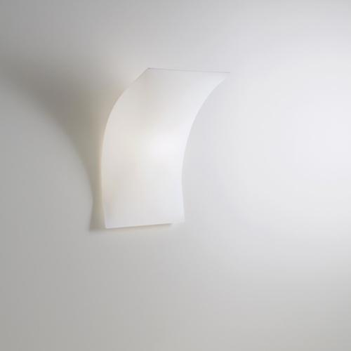 Prandina Light Volume Fluo 21W Small Wall Lamp   Stardust