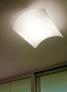 Prandina Light Volume Fluo 22c Medium Ceiling Wall Lamp Stardust