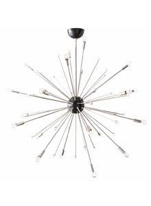 Mid Century Modern 42 Inch Sputnik Light Fixture