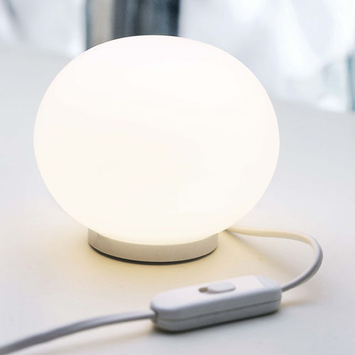 flos mini globall t glass table lamp morrison fu419109