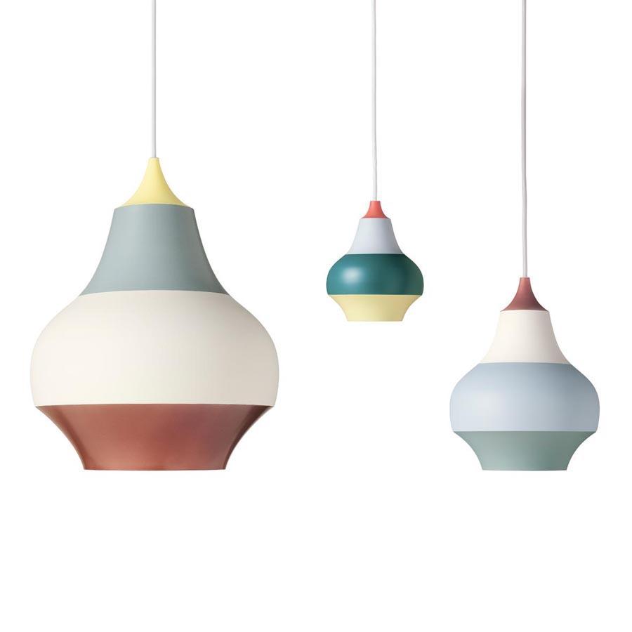 Louis Poulsen Multi Stripe Cirque Modern Pendant Light