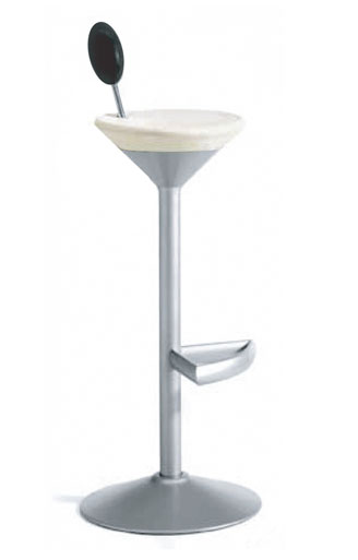 B-Line Manhattan Martini Glass Bar Stool Sample Sale