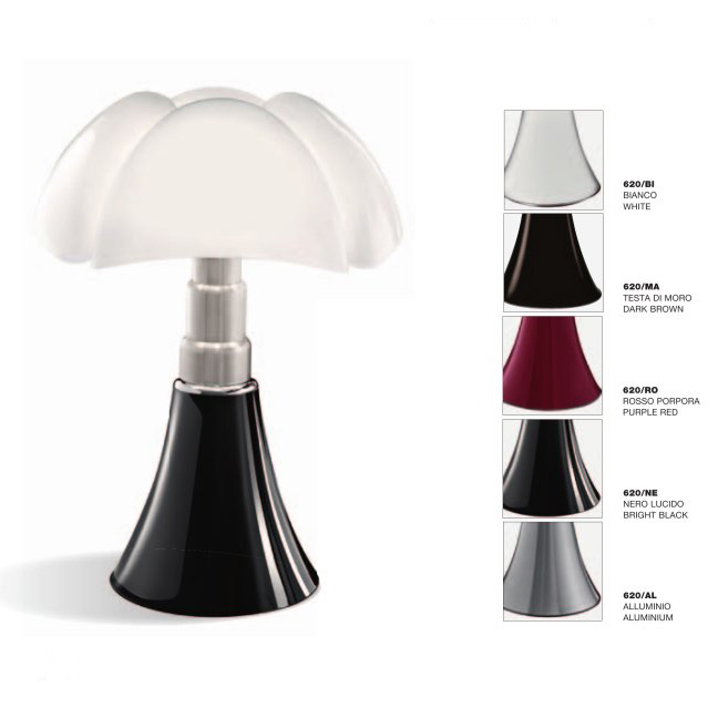 Martinelli Luce Pipistrello Table Lamp By Gae Aulenti