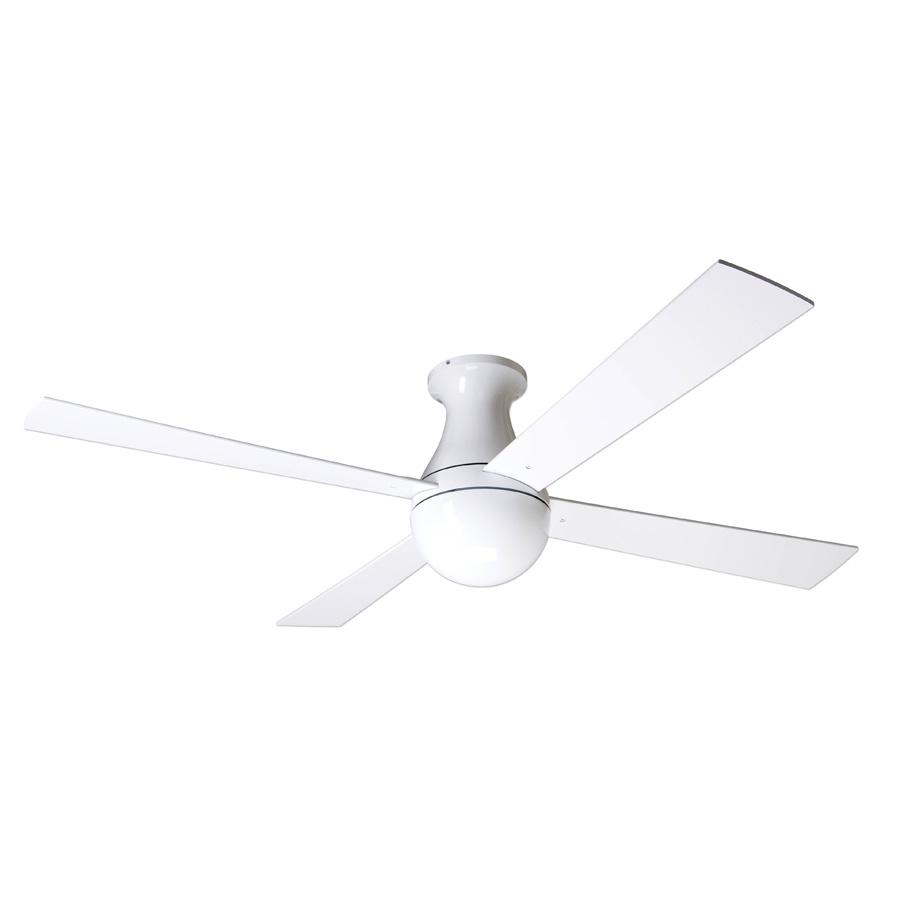 Ball Hugger Ceiling Fan With Light Wiring, Muir 56 3 Blade