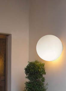 Artemide Dioscuri 42 Wall Ceiling Lamp By Michele De