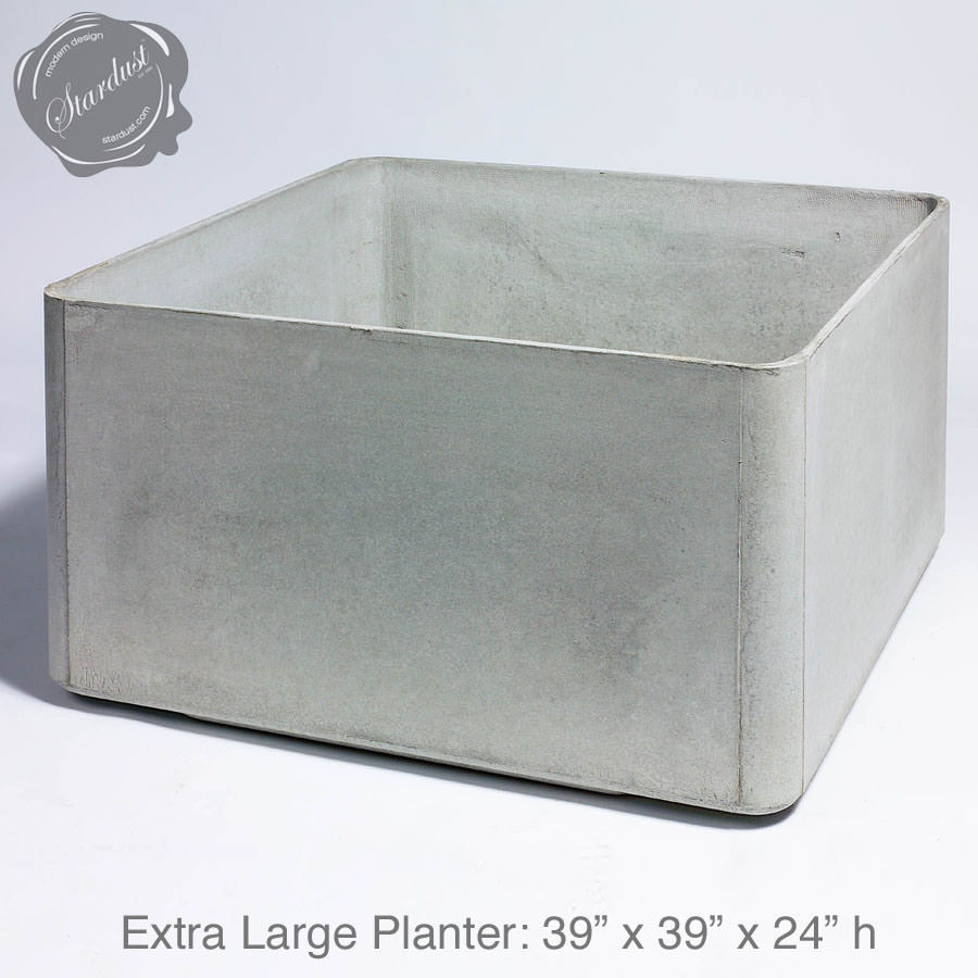 Mid Century Modern Pots And Planters Square Planter 24 Quot H