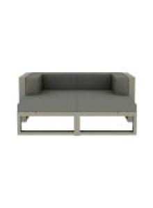 Na Xemena Outdoor Two-Seater Sofa Lounge Configuration 4