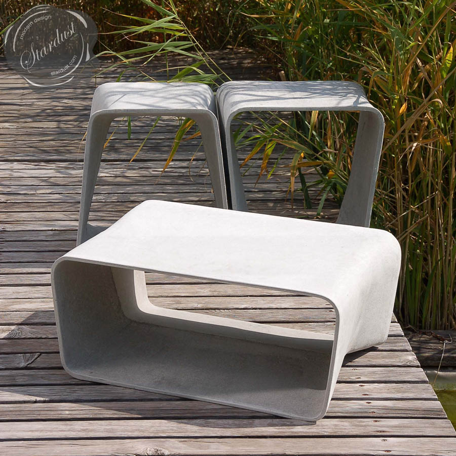 Ecal Modern Outdoor Table Mid Century