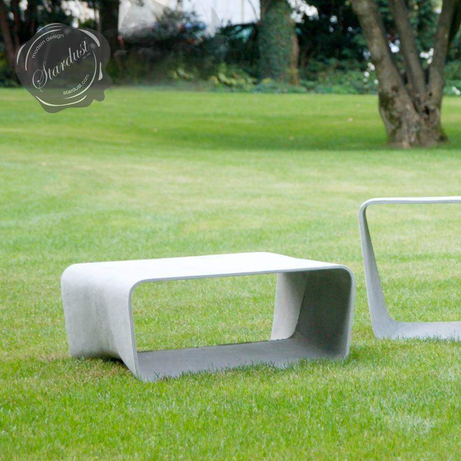 Ecal Modern Outdoor Table Mid Century Modern Design Stardust