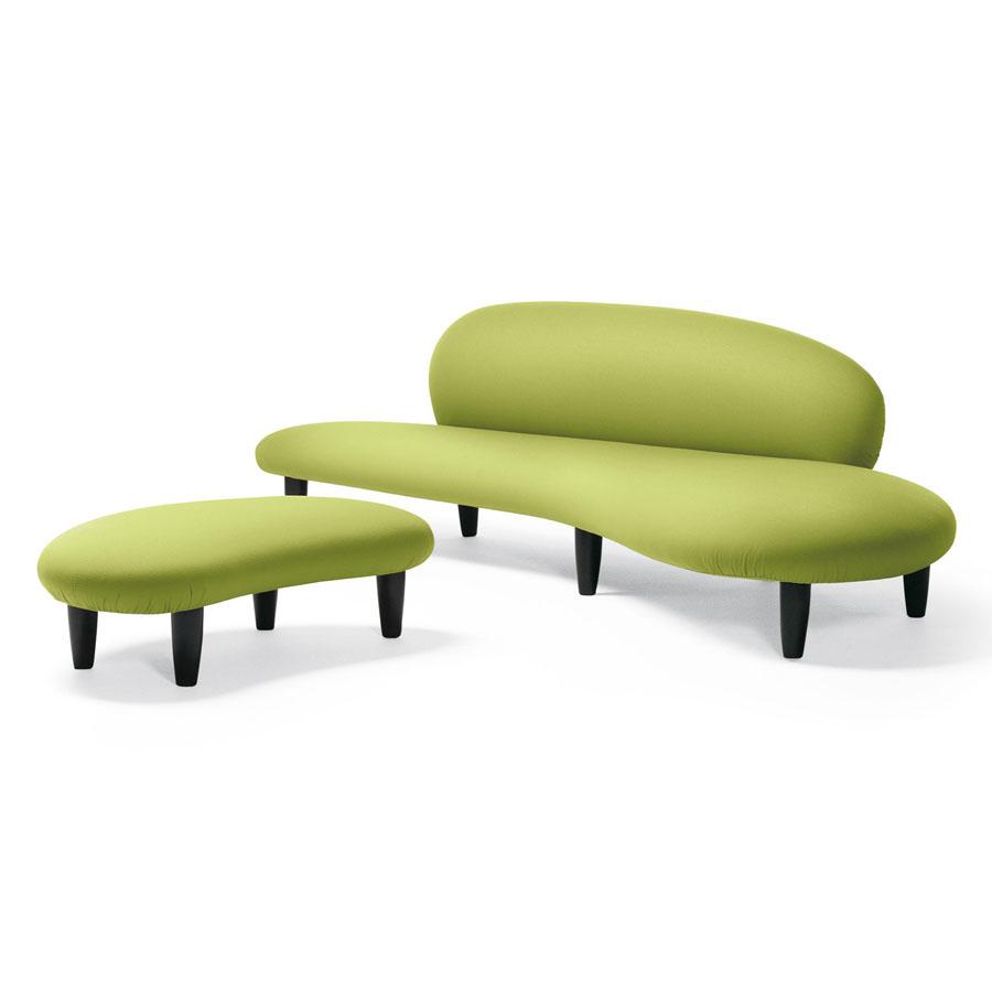 Noguchi Modern Sculpture Freeform Living Room Design Sofa