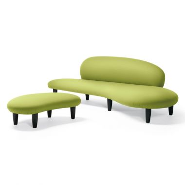 Noguchi Modern Sculpture Freeform Living Room Design Sofa By Vitra