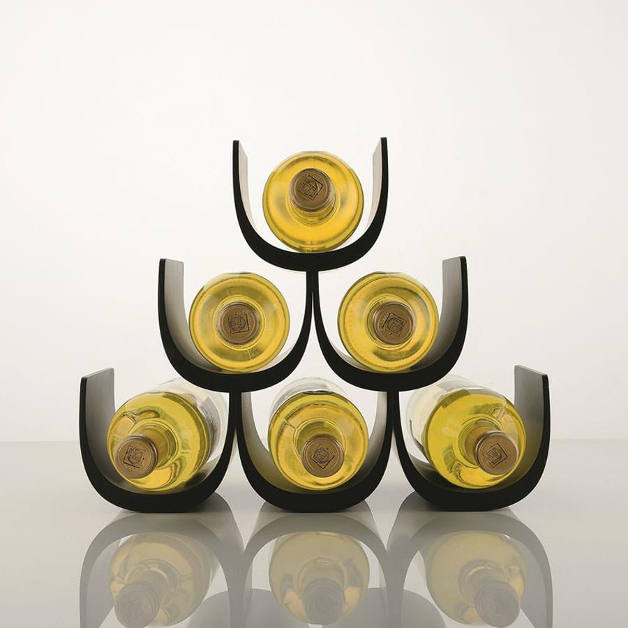 Alessi Noe Modular Wine Rack Bottle Holder Stardust