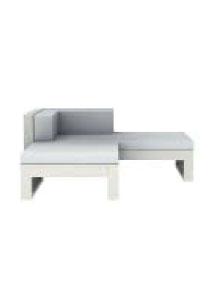 Na Xemena Type 1 Modern Outdoor Sofa 2-Part Sectional