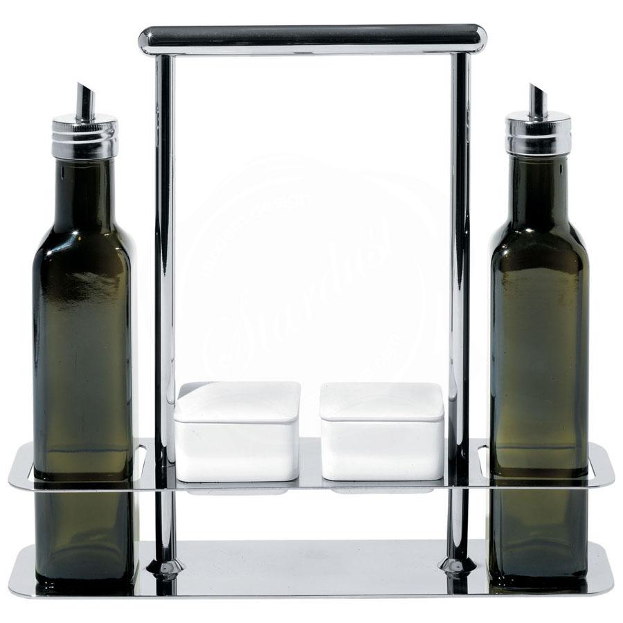 Alessi Trattore Italian Olive Oil Vinegar Cruet Set