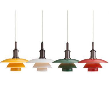 Danish Mid Century Modern Pendant Light
