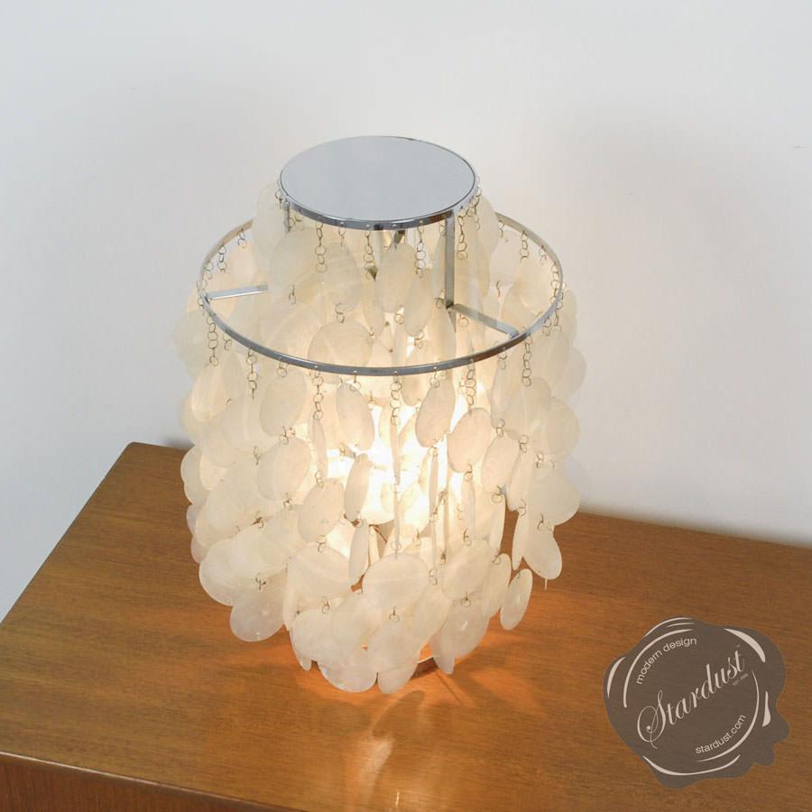 verner panton fun 2tm table lamp stardust. Black Bedroom Furniture Sets. Home Design Ideas