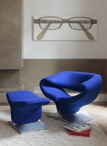 Artifort Ribbon Chair By Pierre Paulin In Kvadrat Tonus 631 ... Design Inspirations