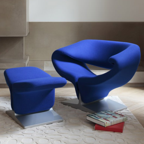 Artifort Ribbon Chair ...