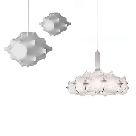 flos taraxacum s2 pendant lamp by achille castiglioni