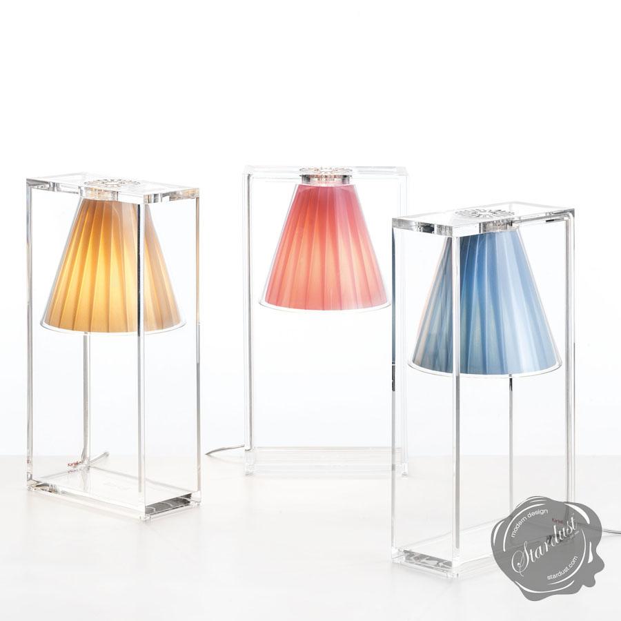 kartell lightair® lamp  light air bedside lamp - kartell lightair® table lamp