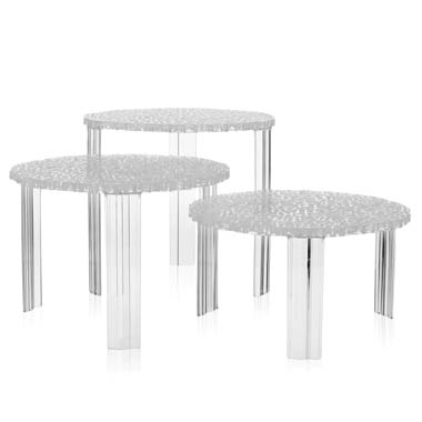 TTABLE Table Kartell - Round end table with doors